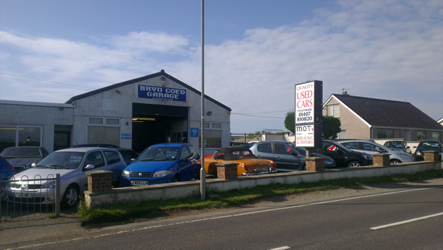 Welcome to Bryn Coed Garage